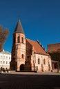 Church of St. Gertrude in Kaunas Royalty Free Stock Photo