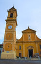 Church of St. Giacomo. Ponte dell'Olio. Emilia-Romagna. Italy. Royalty Free Stock Photography