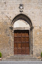 Church of St. Giovanni Battista. Tarquinia. Lazio. Italy. Royalty Free Stock Photo