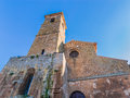 Church of st juvenal orvieto italy san giovenale first cathedral Royalty Free Stock Photo