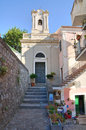 Church of St. Maria di Porto Salvo. Maratea. Basilicata. Italy. Royalty Free Stock Images