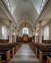 Church of st mary interior the christopher wren s the virgin in fulton missouri Stock Photo