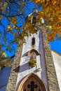 Church of St. Michael in Basbellain, Luxembourg Royalty Free Stock Photo