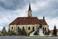 Church of St Michael, Cluj Napoca in Romania Royalty Free Stock Images
