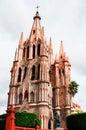 Church of St. Michael, San miguel de Allende Royalty Free Stock Image
