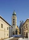 Church of St. Nicholas in Liptovsky Mikulas. Slovakia