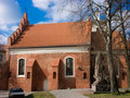 The Church of St Nicholas in Vilnius Stock Photography
