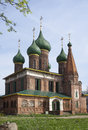 Church of St. Nicholas the Wet in Yaroslavl, Russia Royalty Free Stock Photography