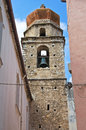 Church of st nicola di mira rodi garganico puglia italy closeup the Royalty Free Stock Photos