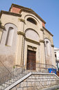Church of st nicola melfi basilicata italy perspective the Stock Photo