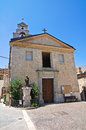 Church of st nicola roseto valfortore puglia italy Stock Images