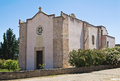 Church of st nicola specchia puglia italy Royalty Free Stock Photo