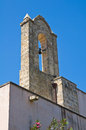 Church of st nicola specchia puglia italy Royalty Free Stock Photography