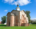Church of St Parasceva (Veliky Novgorod, Russia) Royalty Free Stock Photo