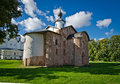 Church of st paraskeva piatnitsa the novgorod russia Royalty Free Stock Images