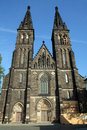Church of St Peter and St Paul in Vysehrad Royalty Free Stock Image