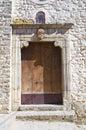 Church of st rocco cancellara basilicata italy detail the Royalty Free Stock Image