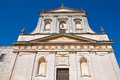 Church of st rocco ceglie messapica puglia italy perspective the Stock Photography