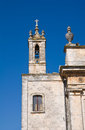 Church of st rocco ceglie messapica puglia italy perspective the Stock Images