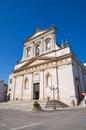 Church of st rocco ceglie messapica puglia italy perspective the Stock Photo