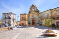 Church of st rocco montescaglioso basilicata italy Royalty Free Stock Image