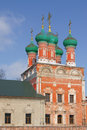 Church of st sergius of radonezh high monastery peter Stock Photo