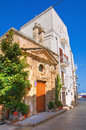 Church of st vito monopoli puglia italy perspective the Stock Images
