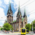 Church of Sts. Olha and Elizabeth in Lviv, Ukraine