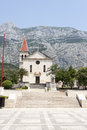 Church Sveti Marko in Makarska, Croatia Stock Photo