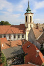 Church in Szentendre town Royalty Free Stock Photo