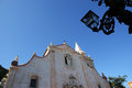 Church in taormina sicily italy small town on the east coast of the island of Stock Image
