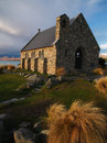Church at Tekapo Royalty Free Stock Photo