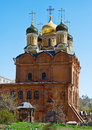 Church of the Theotokos of the Sign (Znamensky Monastery) in Mos Royalty Free Stock Photography