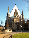 Church Thomaskirche in Leipzig Royalty Free Stock Photo