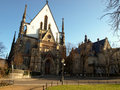 Church Thomaskirche in Leipzig Royalty Free Stock Photo