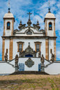 Church in tiradentes minas gerais brazil Royalty Free Stock Photography