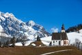 Church in Tirol. Stock Photo