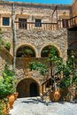 Church of Toplou Monastery, Crete Royalty Free Stock Photo