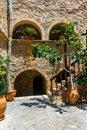 Church of Toplou Monastery. Crete Royalty Free Stock Photo