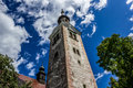 Church tower, church of the Assumption of Mary Royalty Free Stock Photos