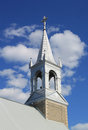 Church tower ontario canada towers of a small country in Royalty Free Stock Photos