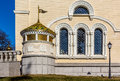 Church of the transfiguration detail moscow new at peredelkino about kilometres south west russia is located Royalty Free Stock Photography