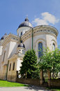 Church trasfiguration on the north of the rynok square lviv western ukraine Stock Images