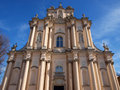 Church visitationist from warsaw poland Royalty Free Stock Photography