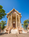 Church in wat pa sutdhawas sakon nakhon thailand Royalty Free Stock Photos