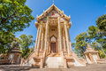 Church in wat pa sutdhawas sakon nakhon thailand Royalty Free Stock Photo