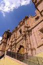Church- Zacatecas, Mexico Royalty Free Stock Photo