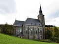 Church zlate hory czech republic europe old Royalty Free Stock Photo