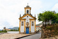 Churches in ouro preto brazil is a city the state of minas gerais a former colonial mining town the focal point of the gold rush Royalty Free Stock Photo
