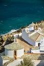 Churches in skopelos greece island Stock Image